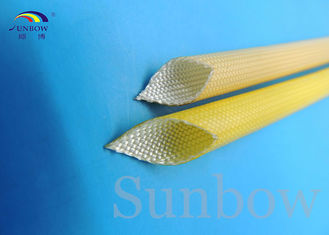 Китай SUNBOW RoHS 155C F grade  Dielectric Insulation PU Fiberglass Sleeving for Motors поставщик
