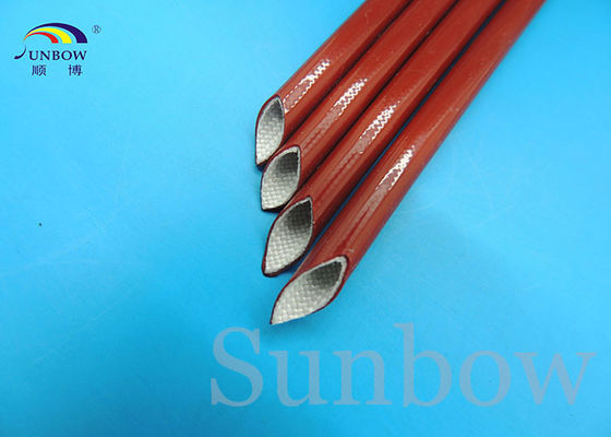 Китай Braided FiberGlass Tube High Temperature Fiber Glass Sleeving поставщик