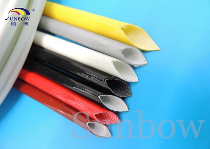 Braided FiberGlass Tube High Temperature Fiber Glass Sleeving