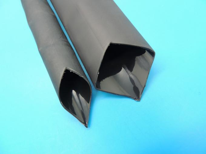 Soft heavy wall polyolefin heat shrinable tube with / without adhesive with size from Ø10-Ø85mm for wires insulation