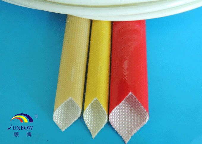 SUNBOW RoHS 155C F grade  Dielectric Insulation PU Fiberglass Sleeving for Motors